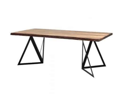 Jedálenský stôl Mezzo - čierna