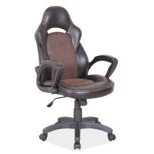 Kancelárska stolička Q-253 - čerašňa-čierna