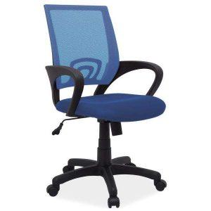 Kancelárska stolička Q-253 - modrá