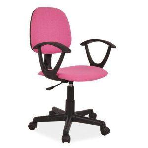 Kancelárska stolička Q-253 - ružová