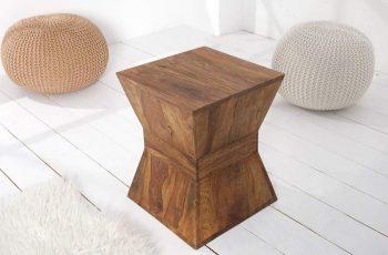Konferenčný stolík Pyramid 45cm sheesham