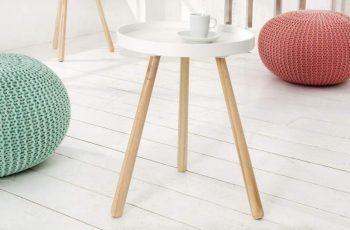 Konferenčný stolík Scandinavia 35cm biela
