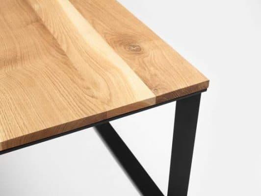 Konferenčný stolík Scandinavia set 2ks - čierna