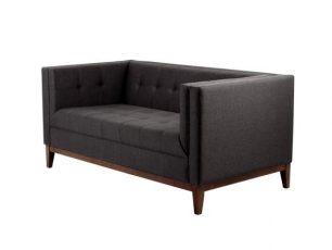 Sofa Zugo 3 os. - karbon