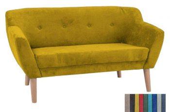 Sofa Zugo 3 os. - žltá