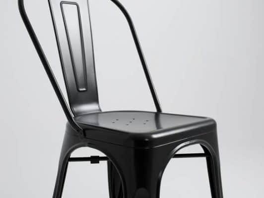 Stolička H-334 - čierna