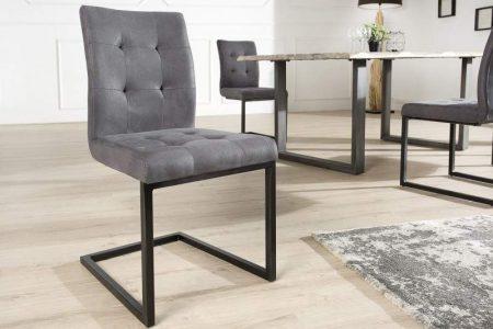 Stolička V-1 - sivá