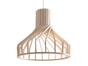 Závesná lampa Ador Stout - prírodná