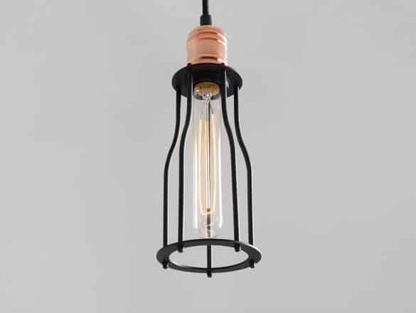 Závesná lampa Worker Tall