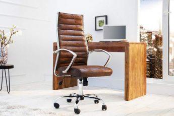 Kancelárska stolička Big Deal antik coffee