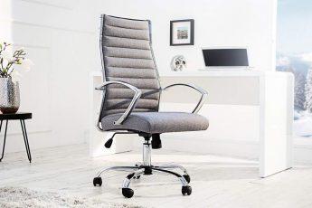 Kancelárska stolička Big Deal vrecovina sivá