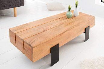 Konferenčný stolík Lumberjack 100cm agát