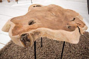 Konferenčný stolík Wild 40cm drevo (masív)