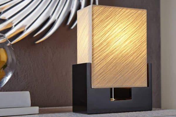 Biela stolová lampa Twilight 25 cm »
