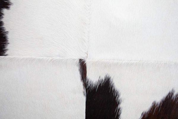 Vankúš Rodeo 45x45cm - hnedá biela