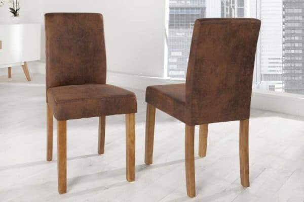 Hnedá jedálenská stolička Genua