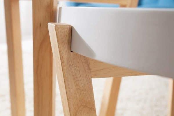 Biely drevený konferenčný stolík Scandinavia set 2 ks »