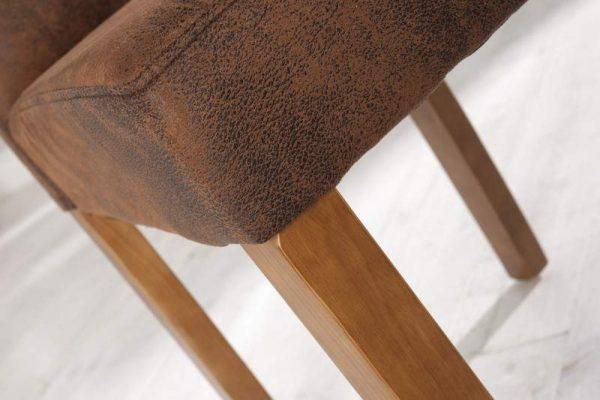 Hnedá jedálenská stolička Genua »
