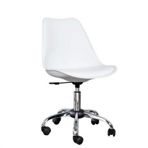 Kancelárska stolička Scandinavia - biela