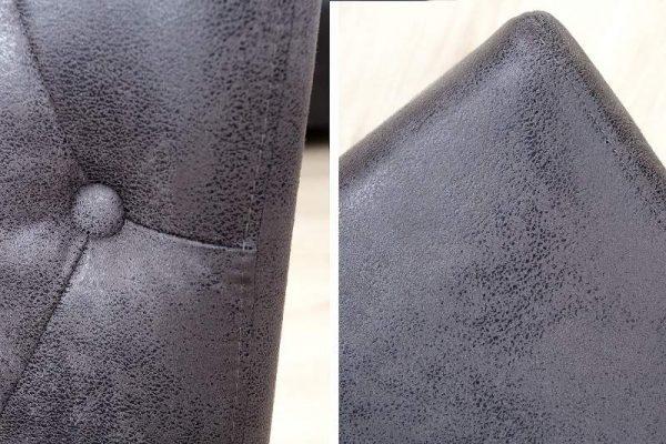 Sivá jedálenská stolička Valentino »
