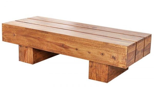 Konferenčný stolík Bolt 100cm sheesham