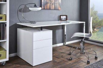 Písací stôl Compact biela