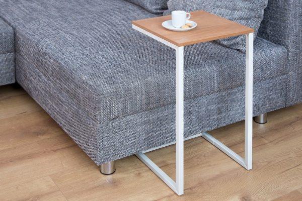 Konferenčný stolík Simply 60cm dub biela