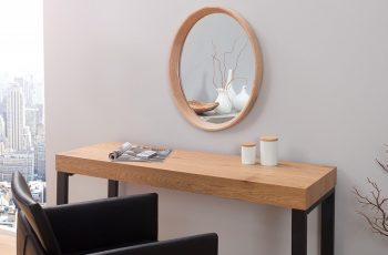 Zrkadlo Oak oválne dub