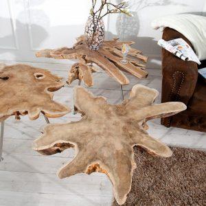 Konferencny-stolik-Selvatico-90cm-teakove-drevo