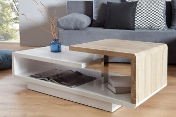 Konferenčný stolík Concept 100cm biela dub