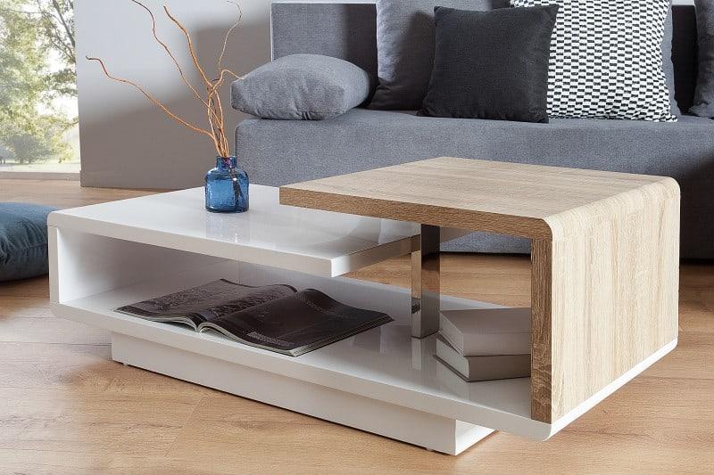 5957aea81 Bielo-dubový konferenčný stolík Concept 50 x 100 cm » » iKuchyne ESHOP s  nábytkom