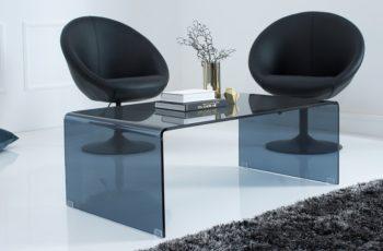 Konferenčný stolík Ghost 110cm antracit