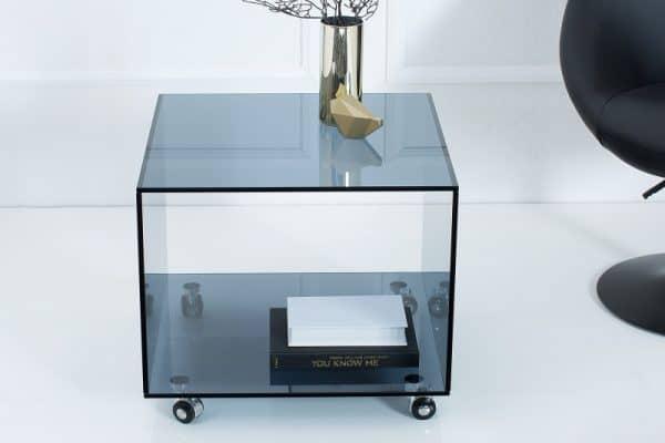 Konferenčný stolík Ghost 50cm Rollen antracit