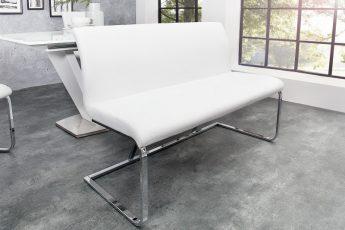Lavica Hampton 130cm biela