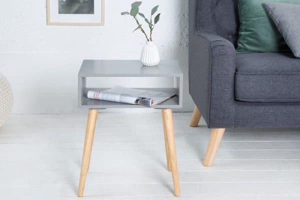 Nachttisch Scandinavia sivá dub