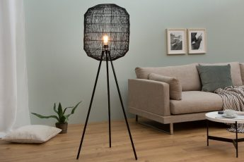 Stojanová lampa Black Cage čierna