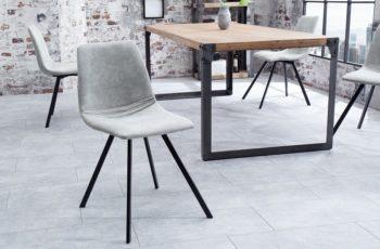 Stolička Amsterdam Retro stone sivá