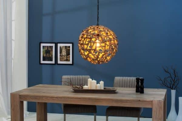 Závesná lampa Pure Nature 40cm naplavené drevo
