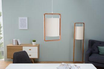 Závesná lampa Scandinavia prírodná