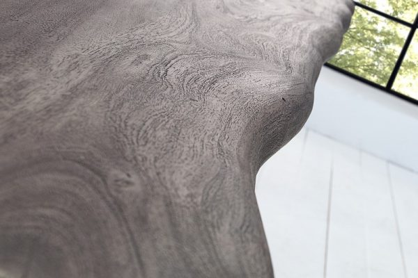 Jedálenský stôl Mammut 200cm sivá agát