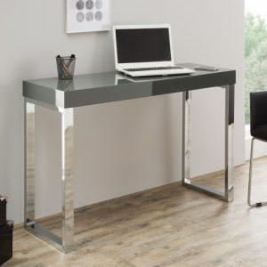 Laptoptisch Grey Desk 120cm dunkelsivá