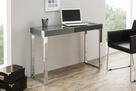 Laptoptisch Grey Desk 120cm dunkelsivá