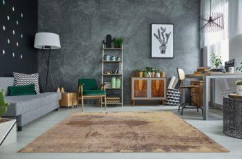 Teppich Batik 240x160cm sand