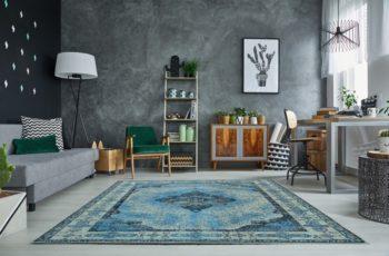 Teppich Levante 240x160cm blau