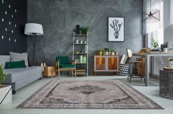 Teppich Levante 240x160cm sivá