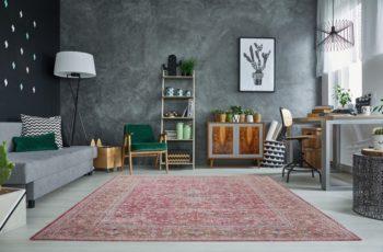 Teppich Orient Design 240x160cm červená antik