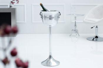 Vedro na sekt Champagne 75cm strieborná