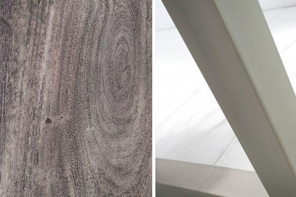 Drevený jedálenský stôl Mammut 100 x 200 cm – 60 mm »