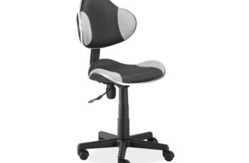 Otočná stolička Q-G2 - čierno-šedá