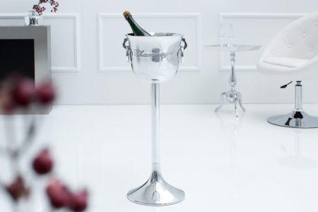 Vedro na sekt Champagne 75cm strieborné